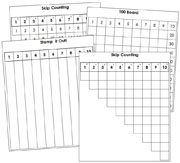 1 to 100 Math Series - Printable Montessori Math Materials by Montessori Print Shop.