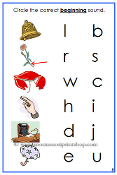 Blue Phonetic Initial Sound Cards - Printable Montessori Learning Materials for home and school.