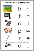 Phonetic Initial Sound Choice Cards - Printable Montessori Learning Materials for home and school.