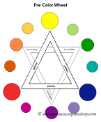 The Color Wheel - Printable Montessori Materials by Montessori Print Shop.