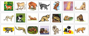 Animal Cutting Strips - Printable Montessori preschool Materials by Montessori Print Shop.