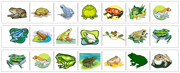 Frog Cutting Strips - Printable Montessori preschool Materials by Montessori Print Shop.
