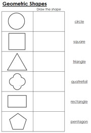 math worksheet : geometric shapes worksheets free printable  worksheets for kids : Shapes Math Worksheets