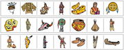Native American Cutting Strips - Printable Montessori preschool Materials by Montessori Print Shop.