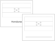 North and Central American Flags - Printable Montessori materials by Montessori Print Shop.
