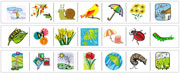 Spring Cutting Strips - Printable Montessori preschool Materials by Montessori Print Shop.