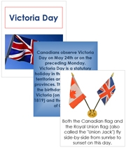 Victoria Day Cards and Booklet - Printable Montessori celebration materials by Montessori Print Shop.