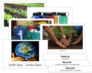 Earth Day - Every Day! - Printable Montessori Science Materials for home and school.