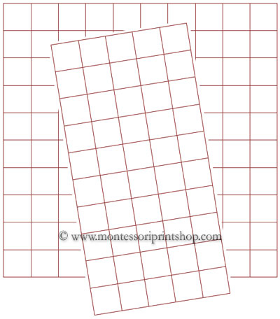 50 Square Grid Paper for Pinterest