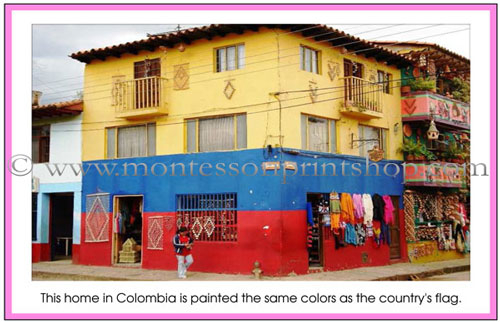 Geography Folder of South America - Printable Montessori materials for Montessori Learning at home and school.
