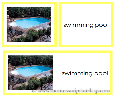 Image Gallery Swimming Words