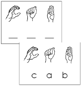 photograph regarding Sign Language Phrases Printable identified as American Signal Language Terms - Montessori Print Keep