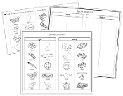 Sense of Touch Sorting (Set 2) Blackline Masters - Printable Montessori Science Cards by Montessori Print Shop.