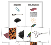 Magnetic or Non-Magnetic? - Printable Montessori science materials by Montessori Print Shop.