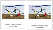 Jacob Lawrence Art Cards - Printable Montessori materials by Montessori Print Shop.