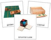 Montessori Material Cards - Printable Montessori Classified Cards by Montessori Print Shop.